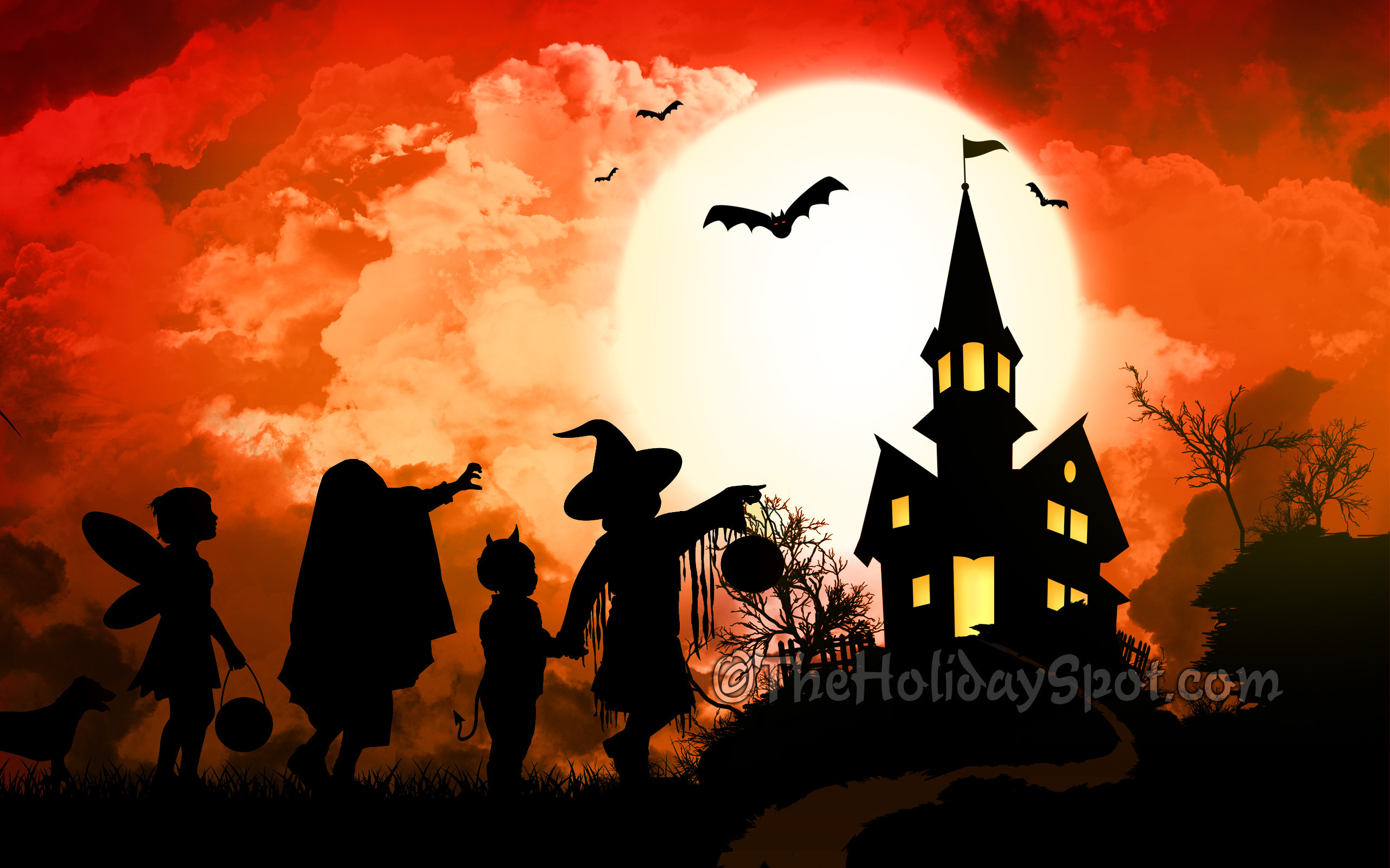 Res: 2560x1600, Halloween Wallpapers High Quality