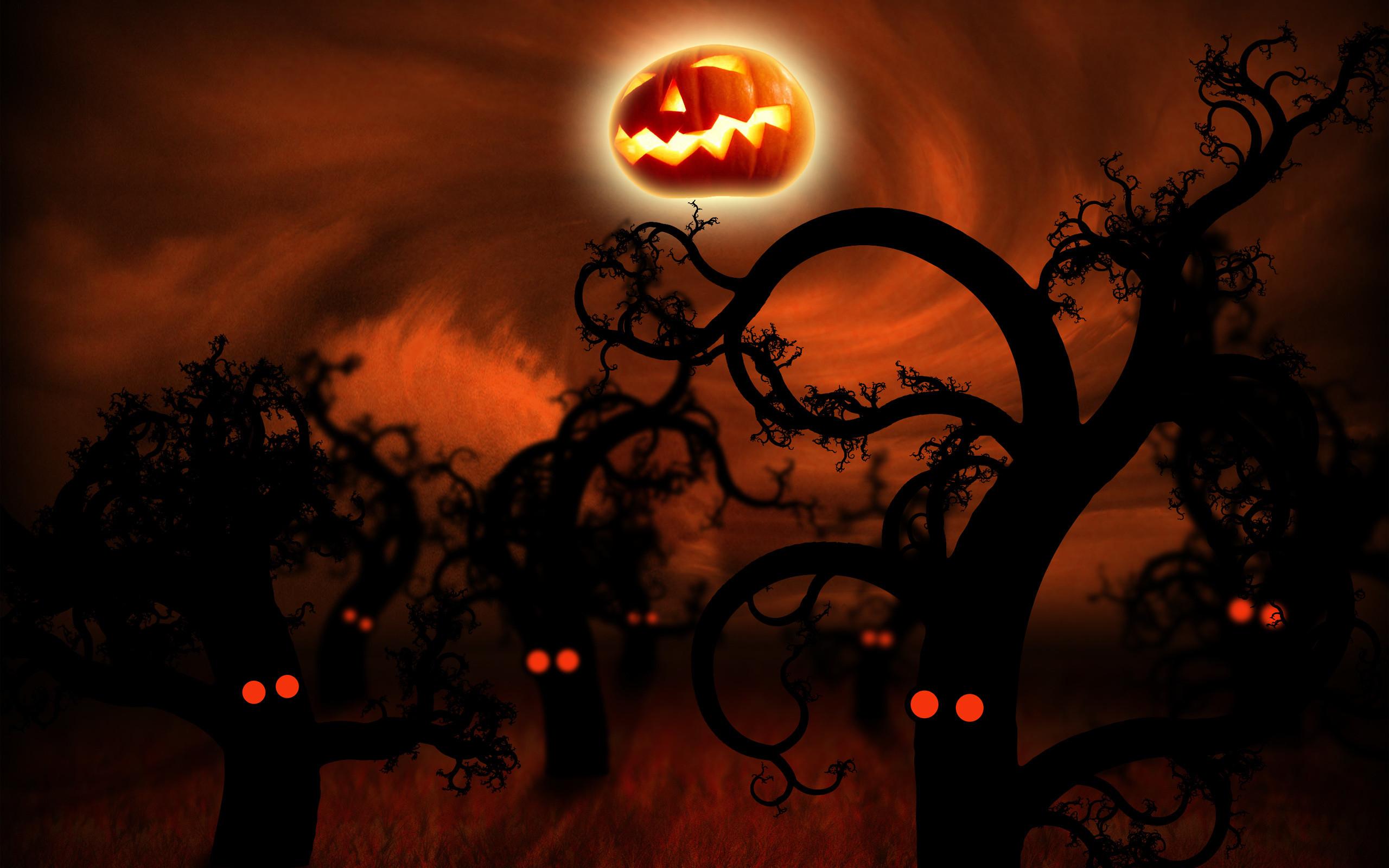 Res: 2560x1600, Halloween Wallpaper