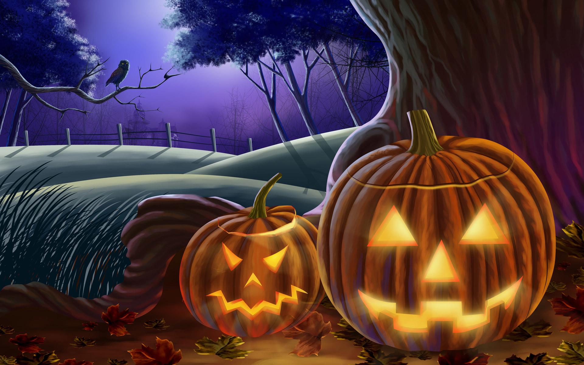 Res: 1920x1200, Halloween Wallpaper