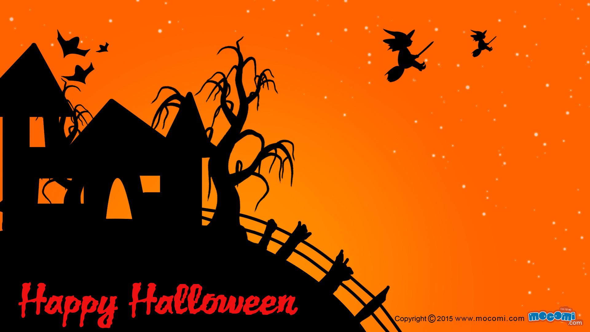 Res: 1920x1080, Happy Halloween Wallpaper – 03. Â«