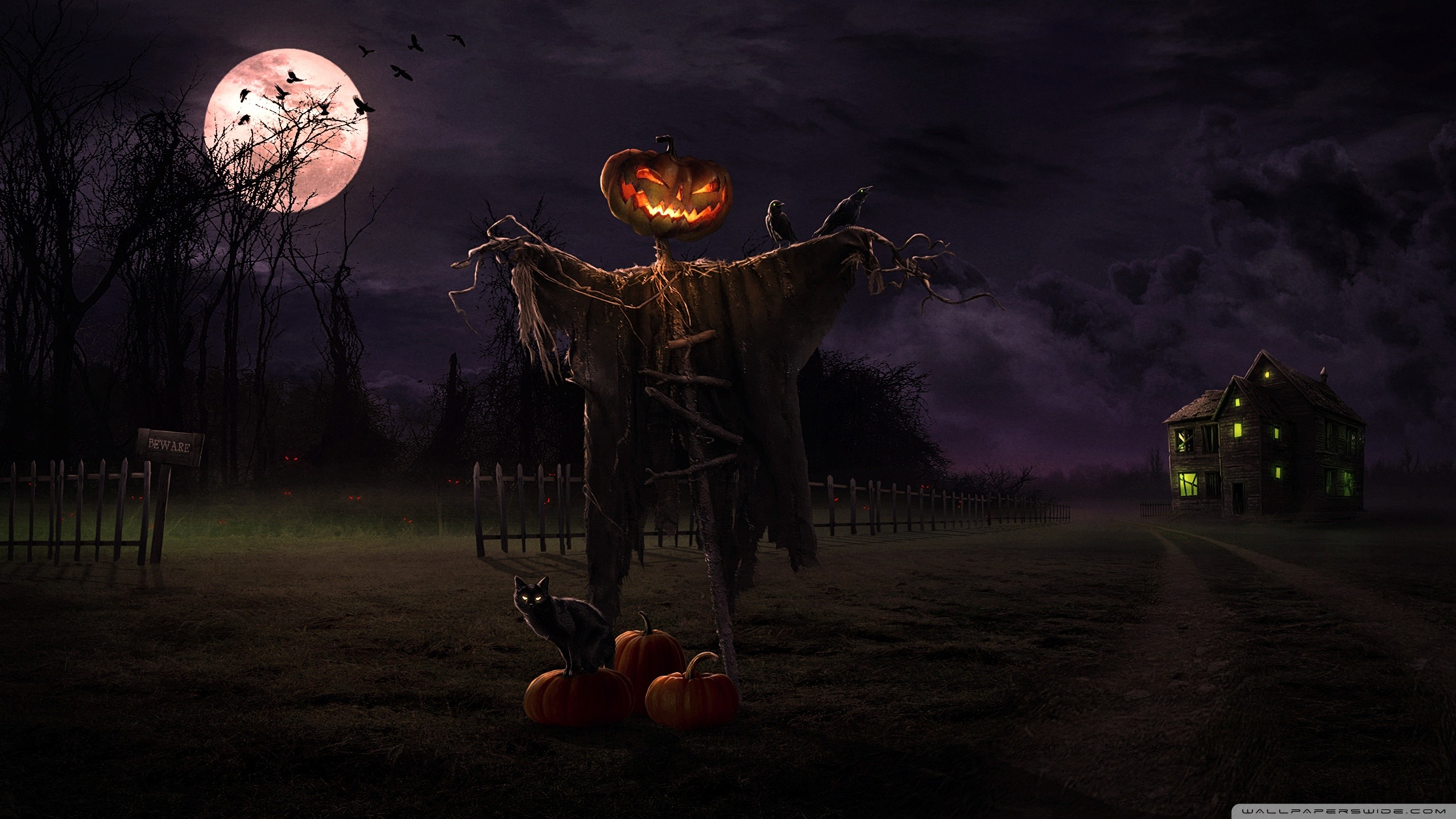 Res: 2560x1440, Full HD 1080p Halloween Wallpapers HD - HD Wallpapers