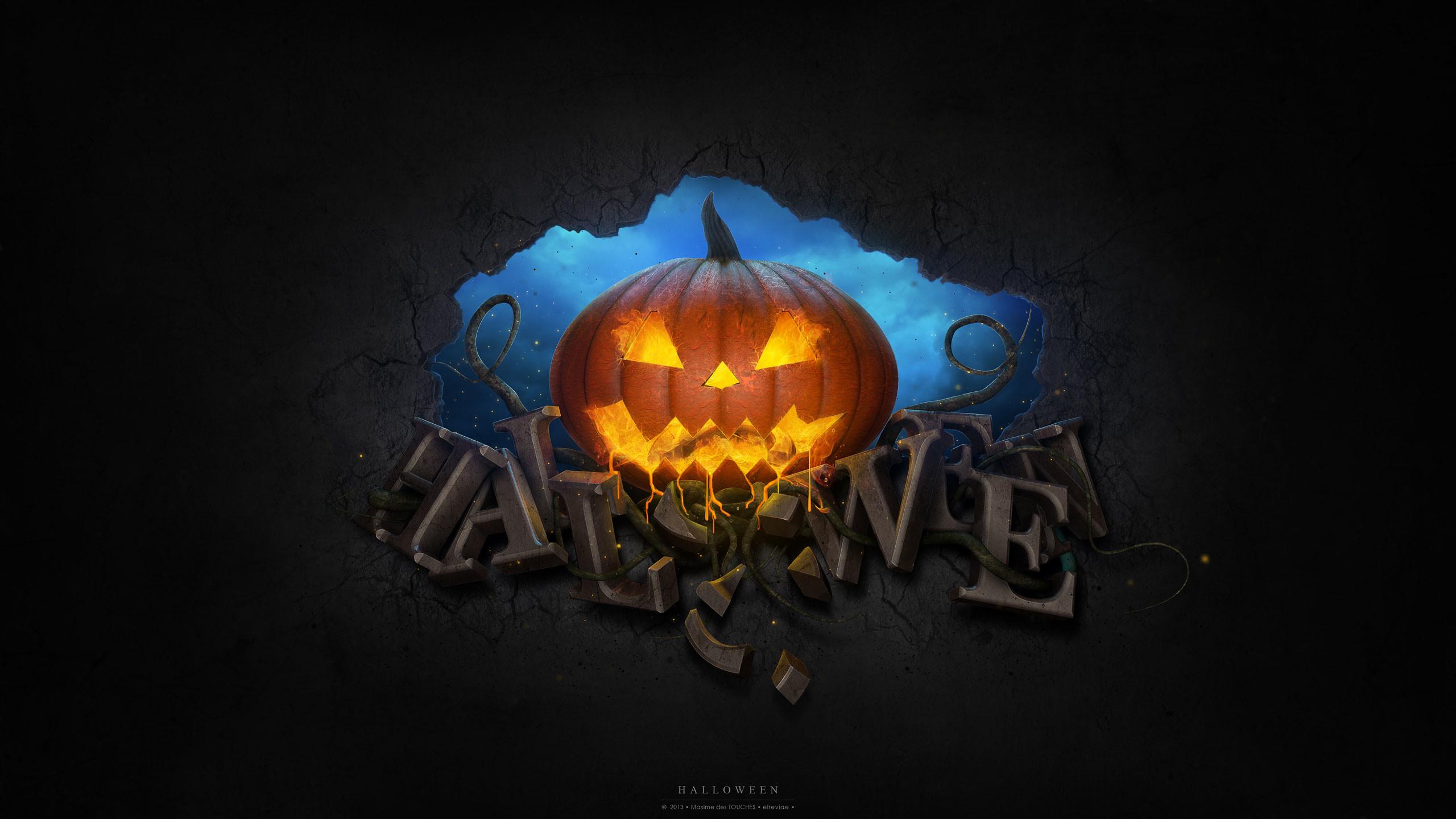 Res: 2560x1440, 2014 halloween Wallpaper HD Widescreen. Credit ·  2014_halloween_Wallpaper_HD_Widescreen