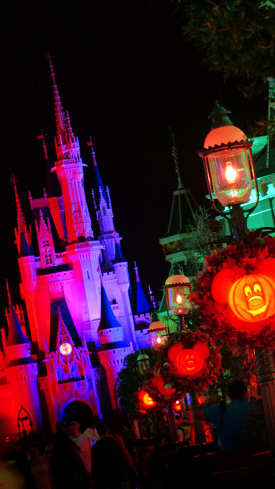 Res: 1080x1920, Mickey's Not-So-Scary Halloween Party - Disney iPhone Wallpaper
