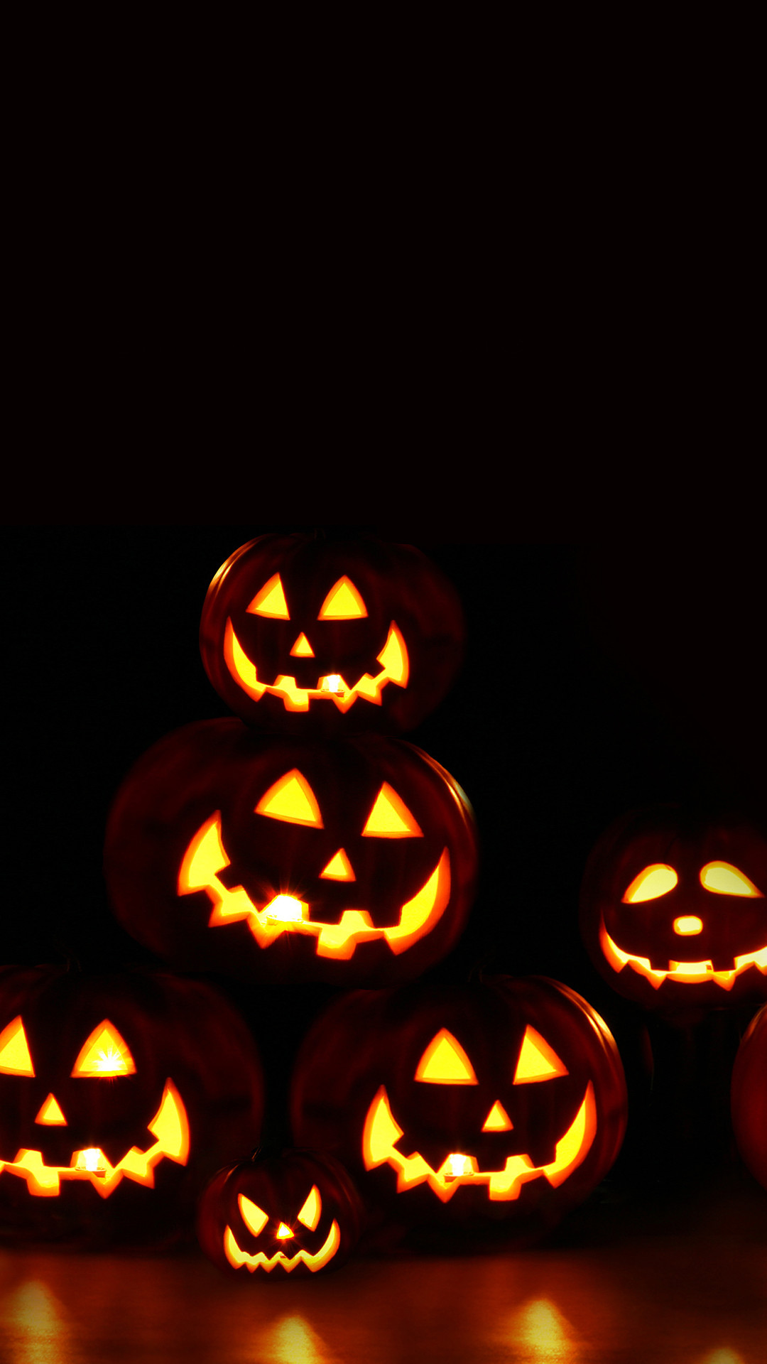 Res: 1080x1920, Scary Pumpkins Halloween Android Wallpaper ...