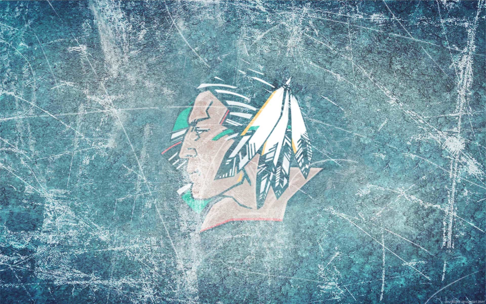 Res: 1920x1200, Free Wallpapers - Fighting Sioux Black Ice wallpaper