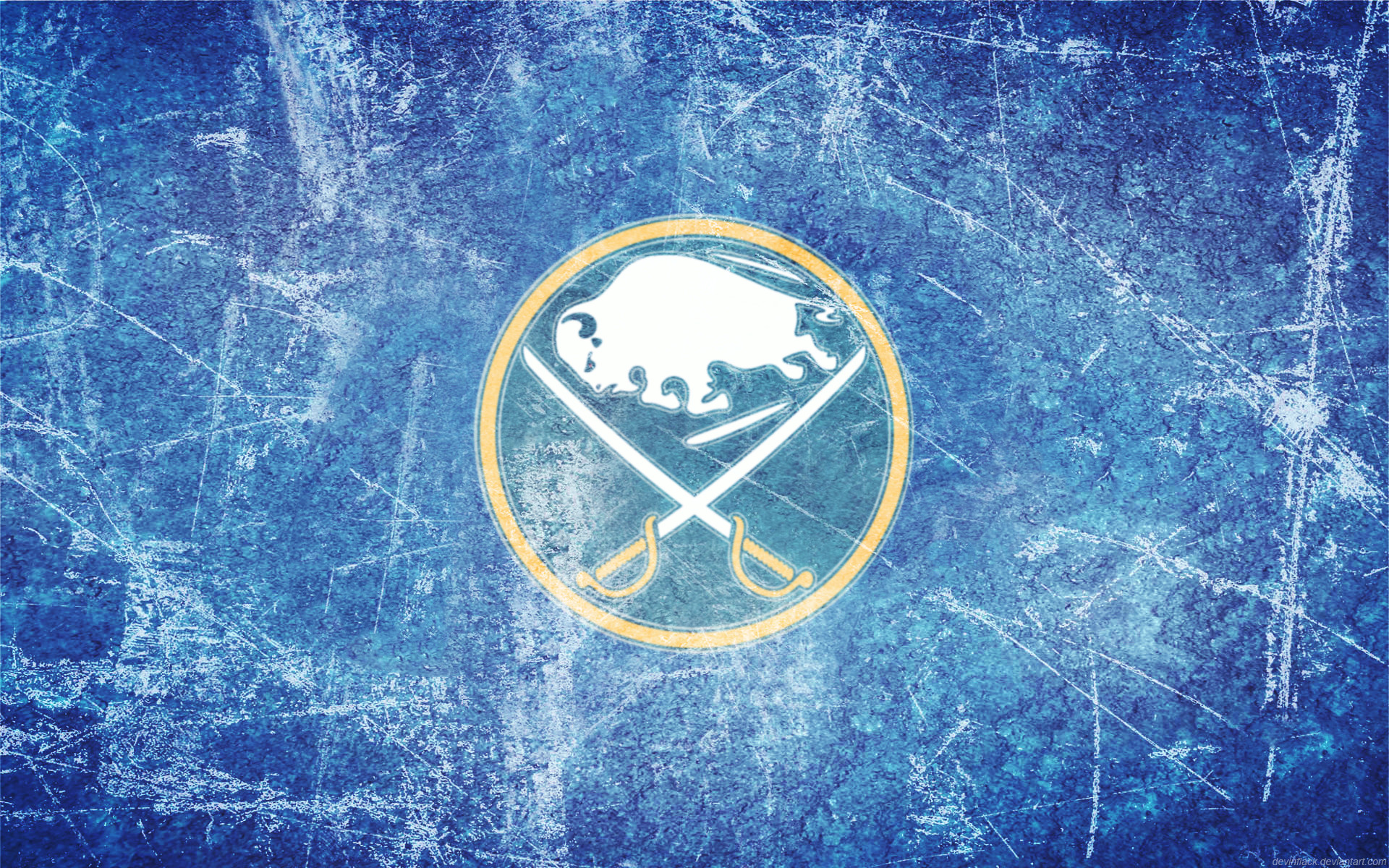 Res: 1920x1200, Sabres Updated Ice Wallpaper by DevinFlack