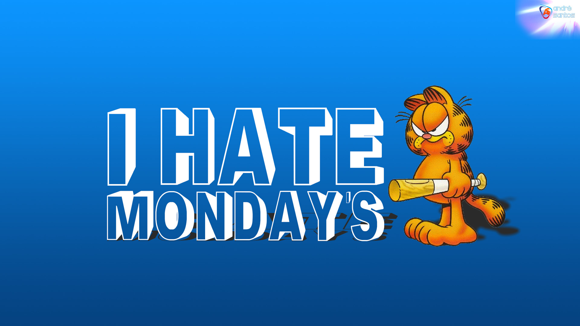 Res: 1920x1080, i hate mondays wallpaper
