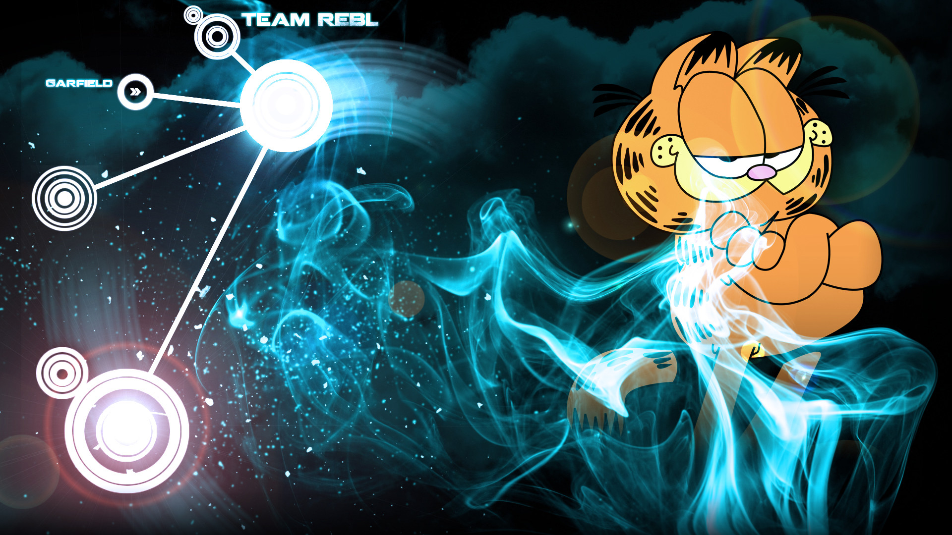 Res: 1920x1080, Garfield's Wallpaper by Kyouonee Garfield's Wallpaper by Kyouonee