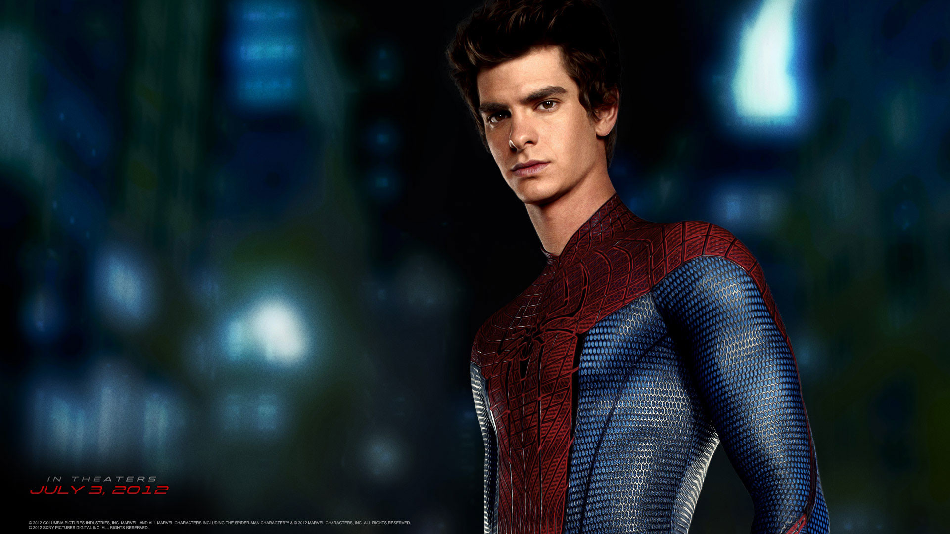 Res: 1920x1080, Andrew Garfield in Amazing Spider Man Wallpaper