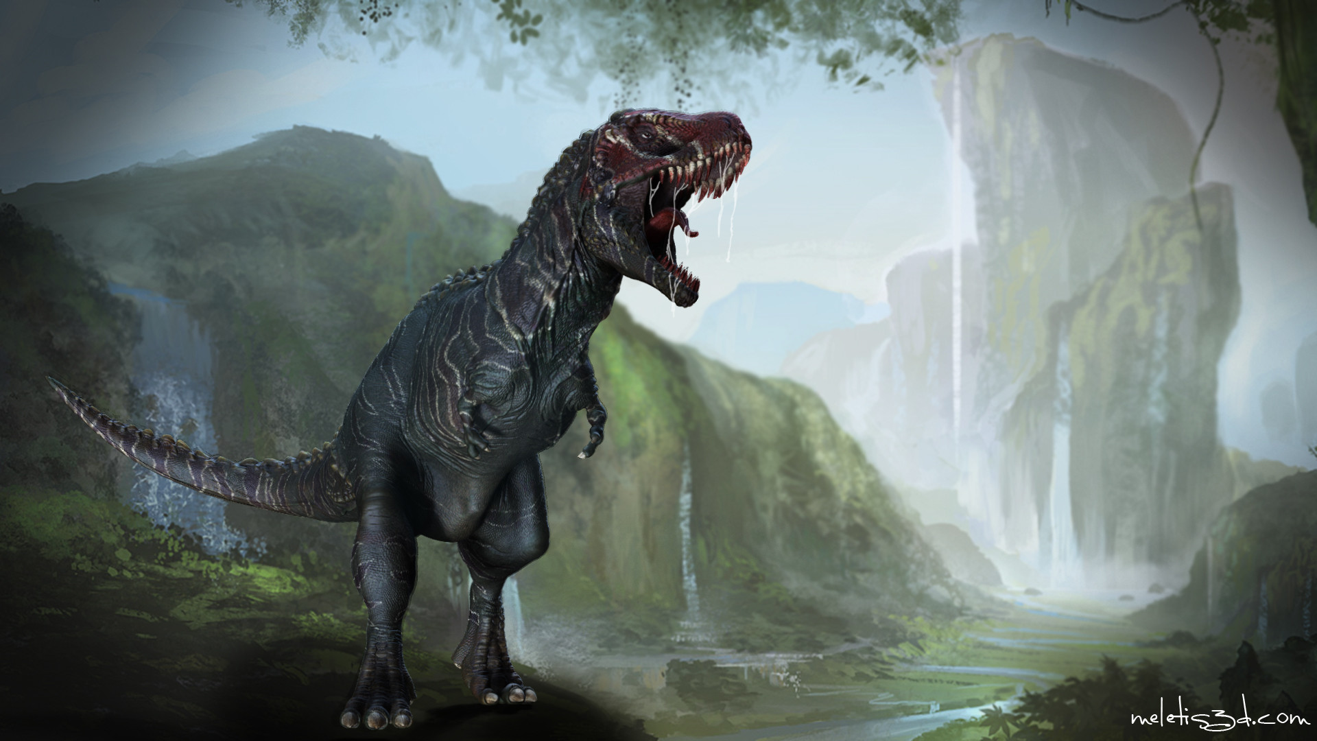 Res: 1920x1080, Jurassic Park T-rex Wallpaper For Iphone