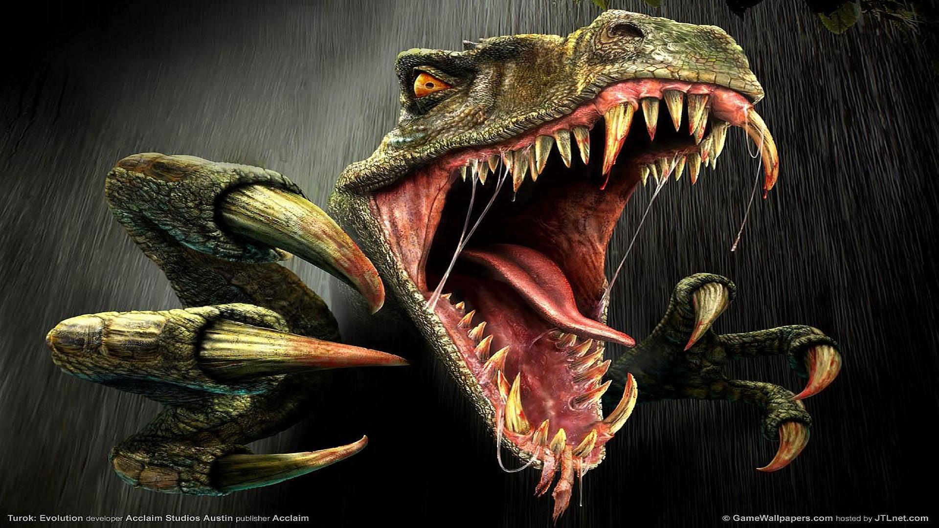 Res: 1920x1080, T Rex Games Jurassic Wallpaper Wallpaper