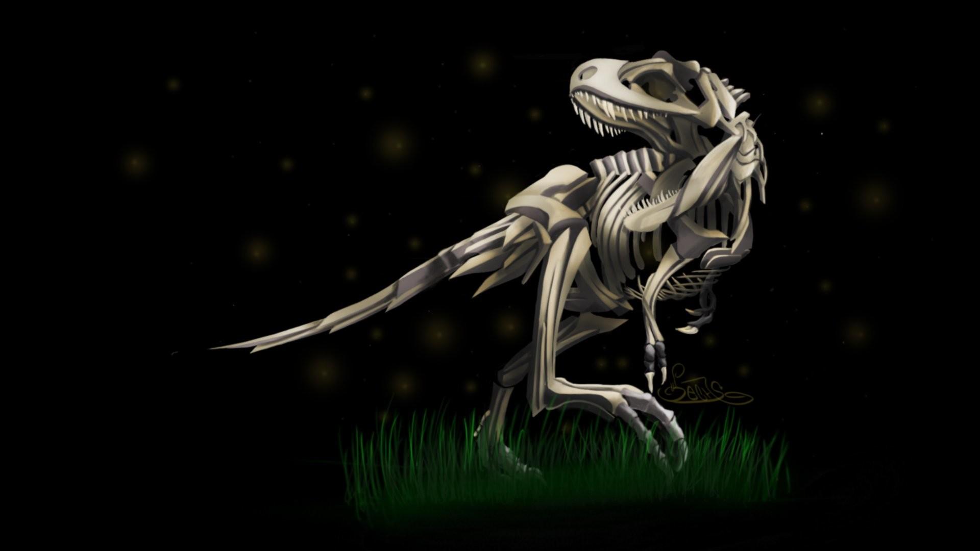 Res: 1920x1080, Dinosaurs skeletons Tyrannosaurus Rex wallpaper |  | 309492 |  WallpaperUP