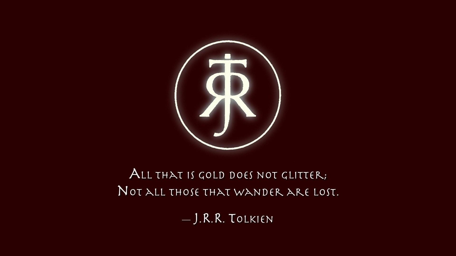 Res: 1920x1080, Misc - Quote Tolkien Wallpaper