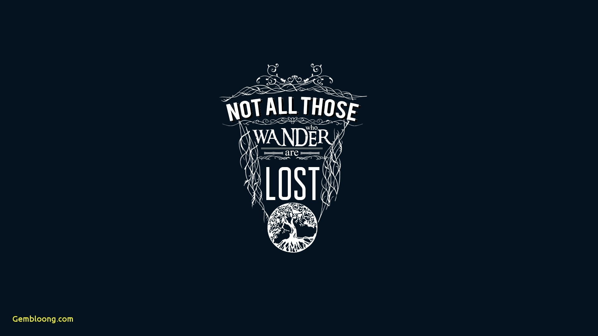 Res: 1920x1080, J R R Tolkien Quote Typography Wallpapers HD Desktop and