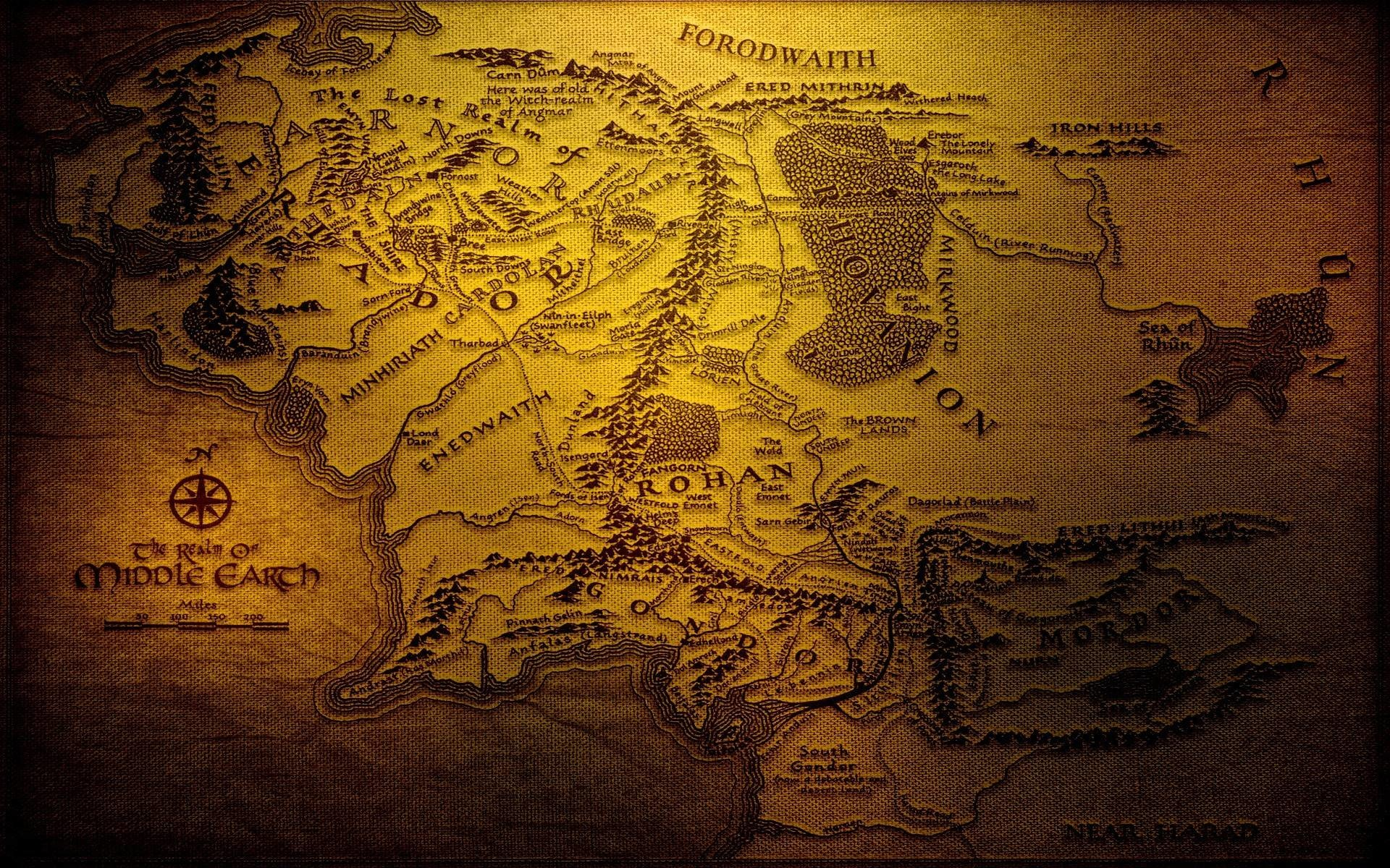 Res: 1920x1200, Middle Earth Wallpapers - Full HD wallpaper search
