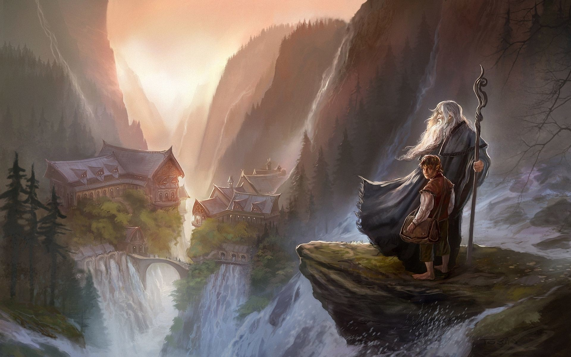 Res: 1920x1200, bilbo drawing by tolkien | Hobbit gandalf art Wallpapers Pictures Photos  Images