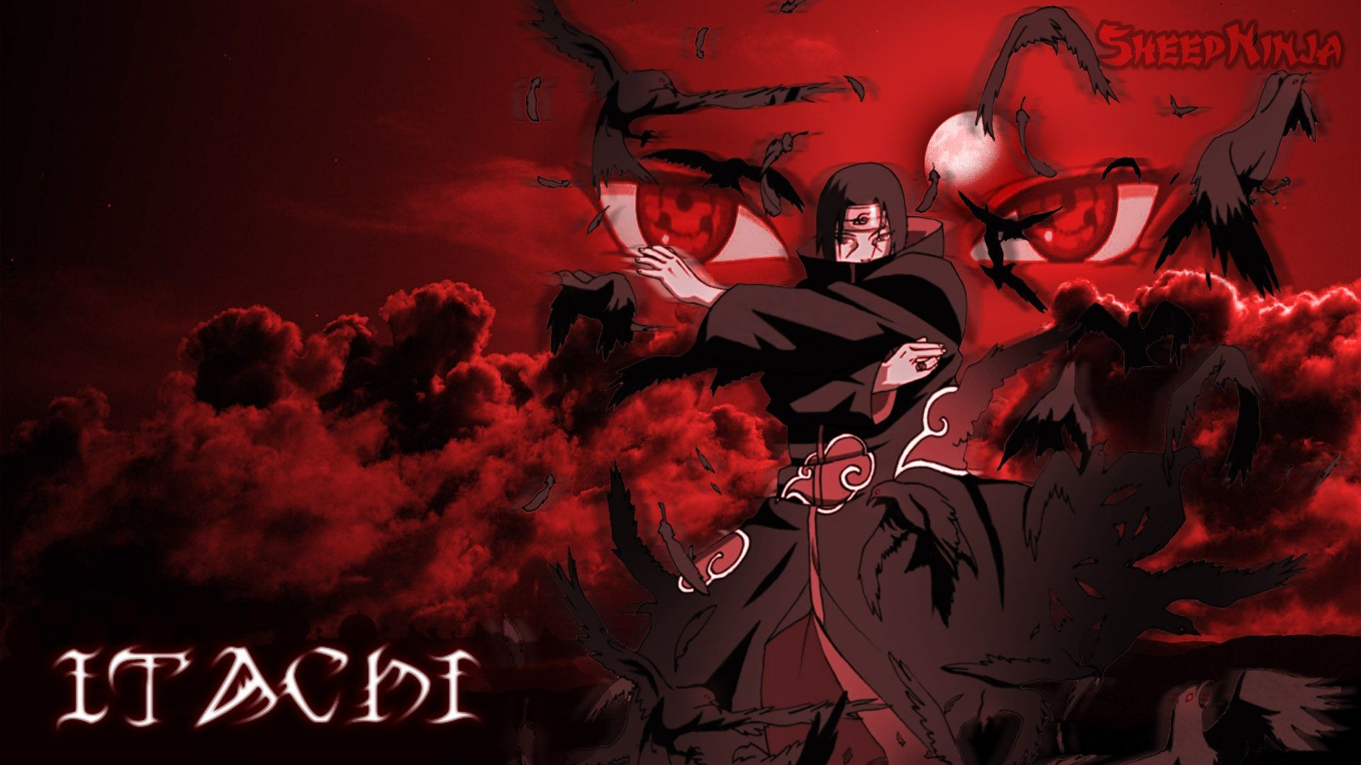 Res: 1920x1080, Itachi HD Background.