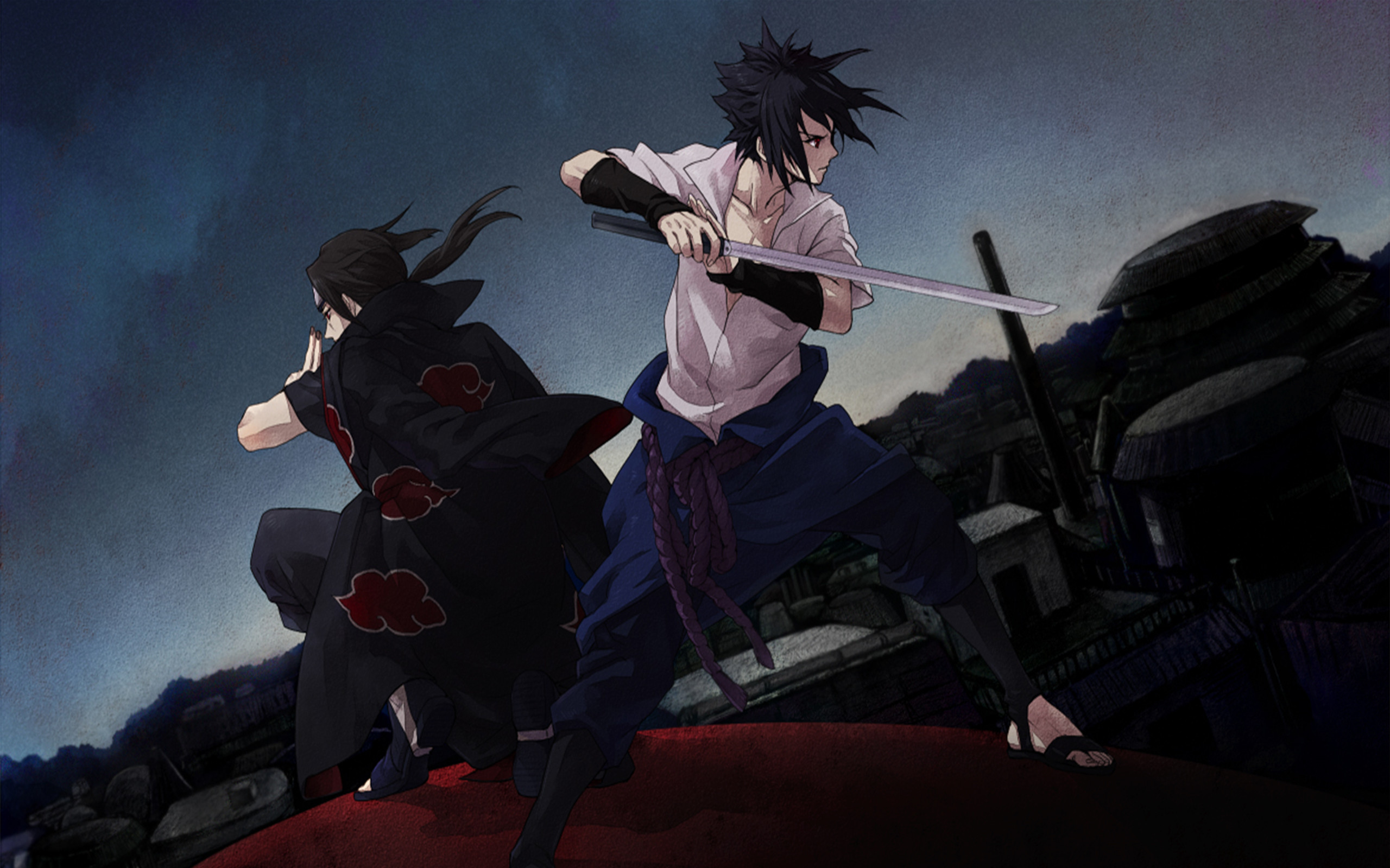 Res: 2560x1600, Uchiha Brothers · download Uchiha Brothers image