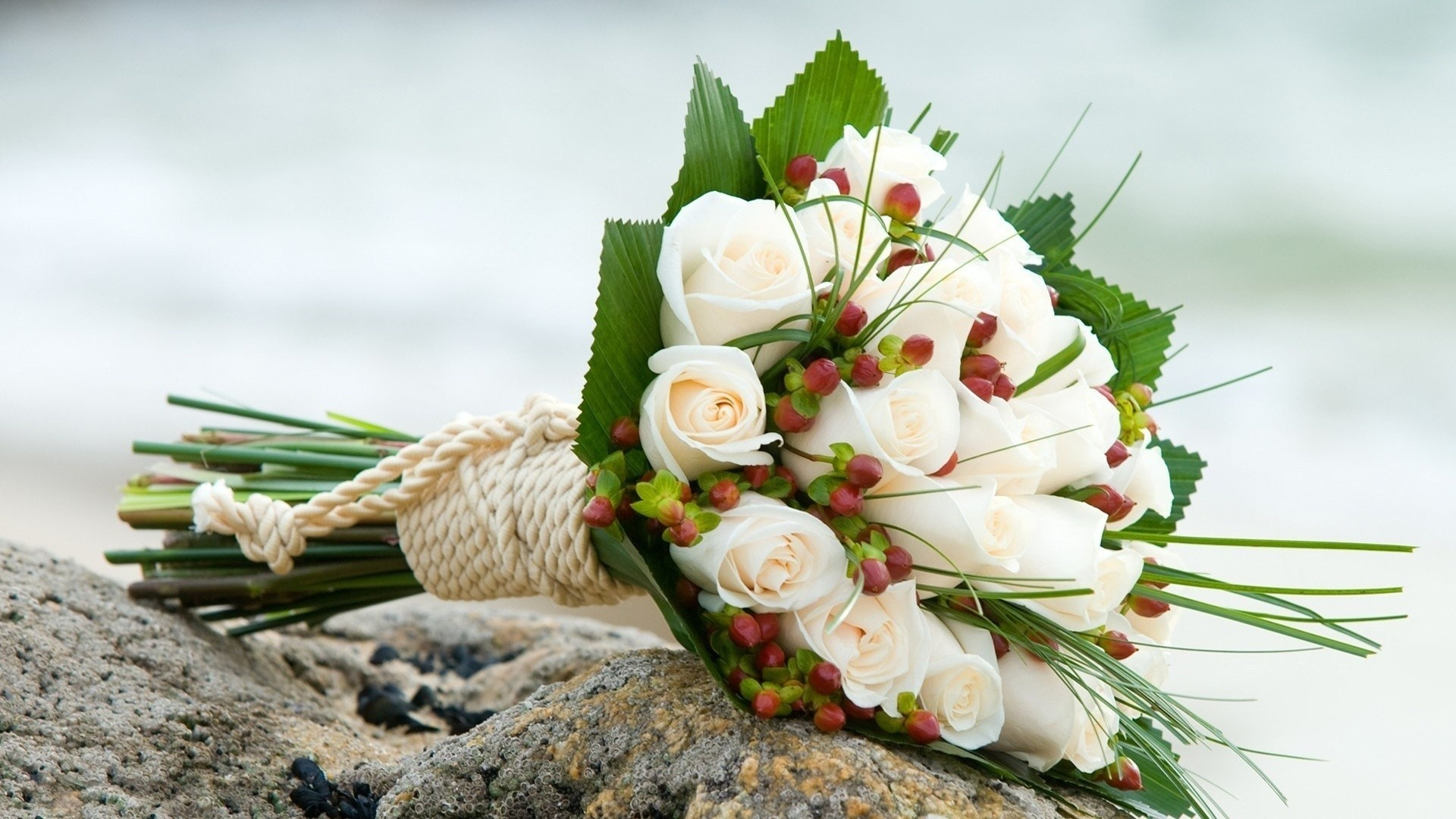 Res: 1920x1080, Image for Wedding Flowers Bouquet Desktop Wallpaper
