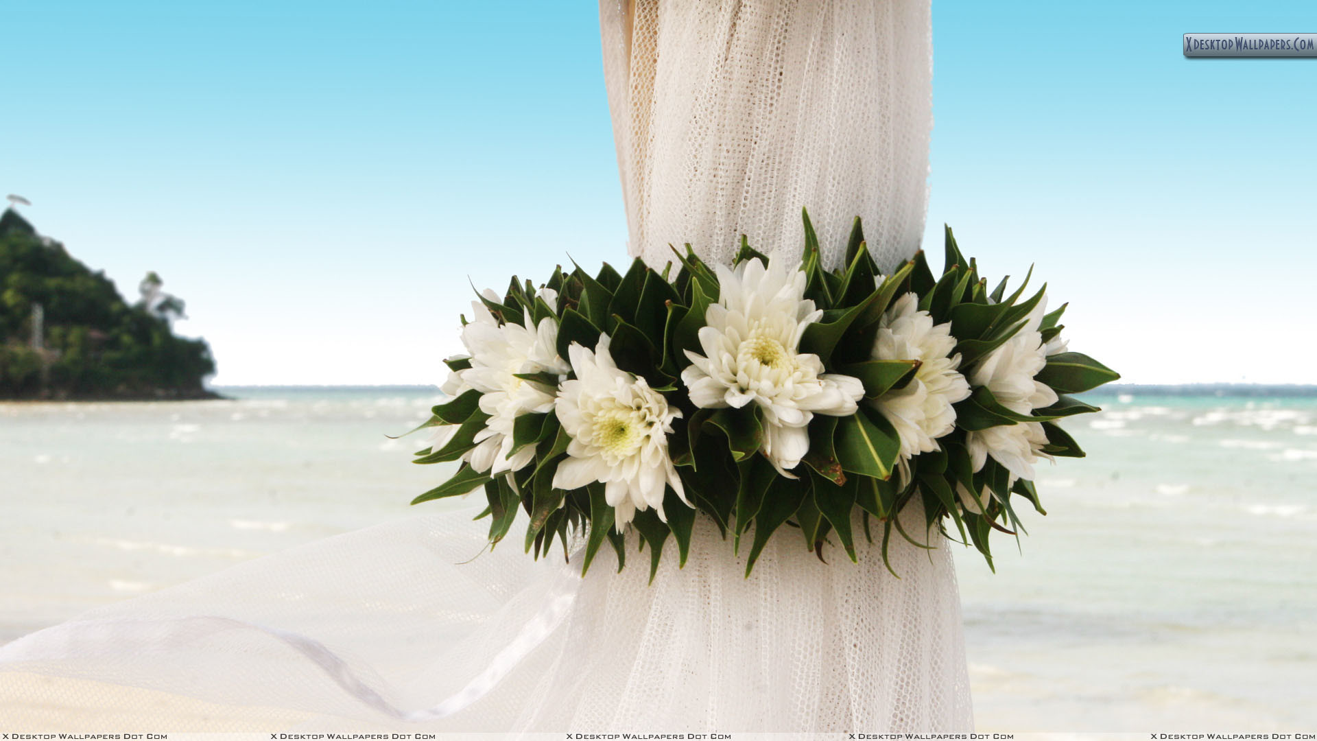 "Res: 1920x1080, You are viewing wallpaper titled ""Wedding Flowers ..."