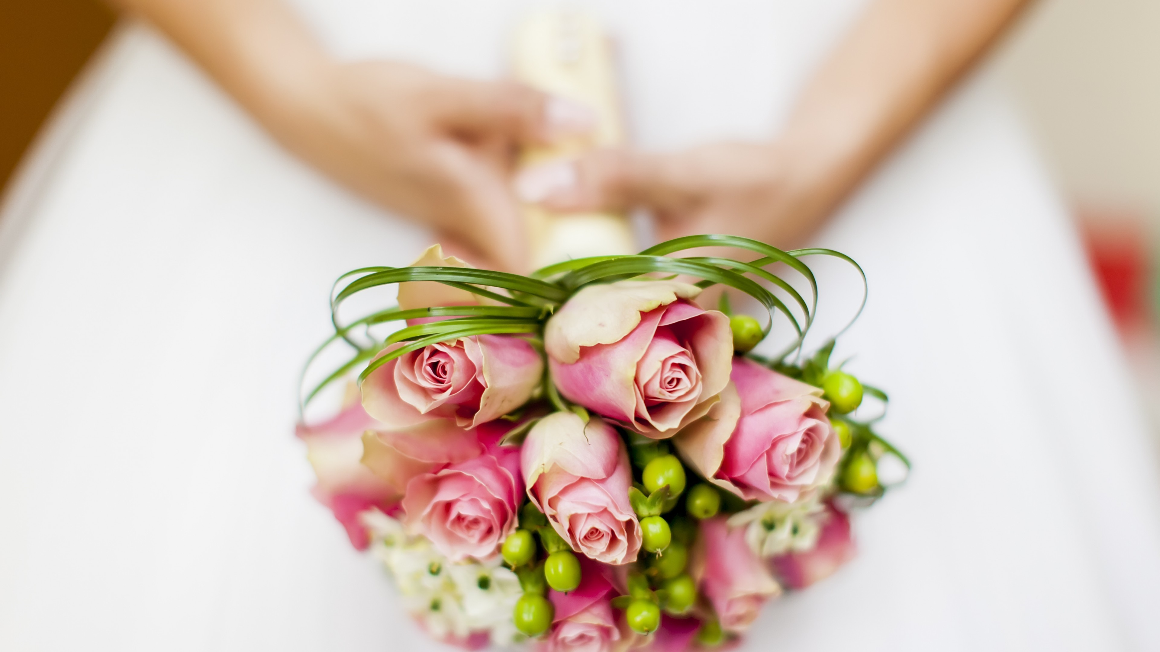 Res: 3840x2160, Flowers / Wedding Flowers Wallpaper