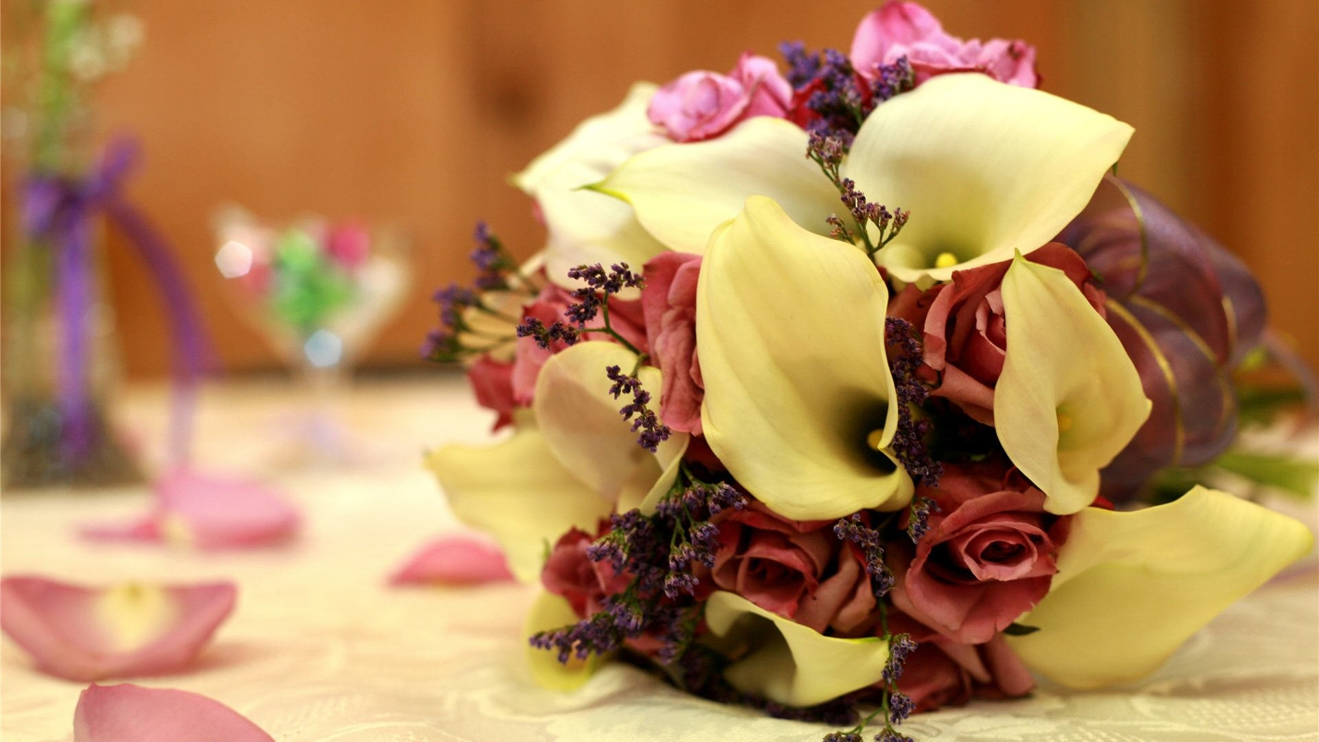 Res: 1920x1080, fall wedding flowers