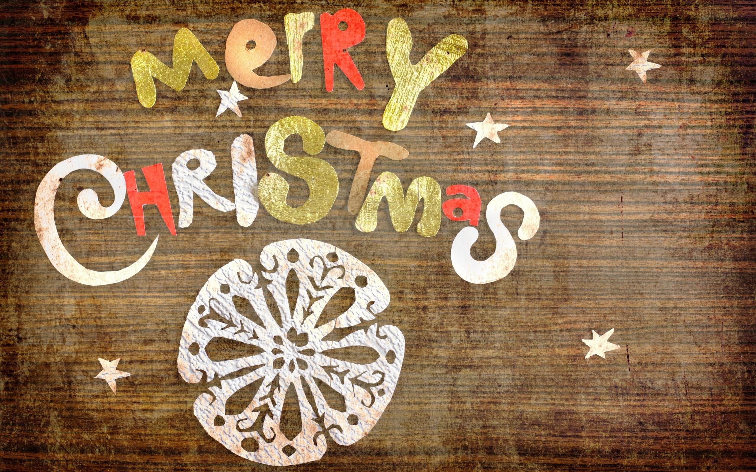 Res: 2560x1600, Simple Merry Christmas Wallpaper Desktop Wallpaper