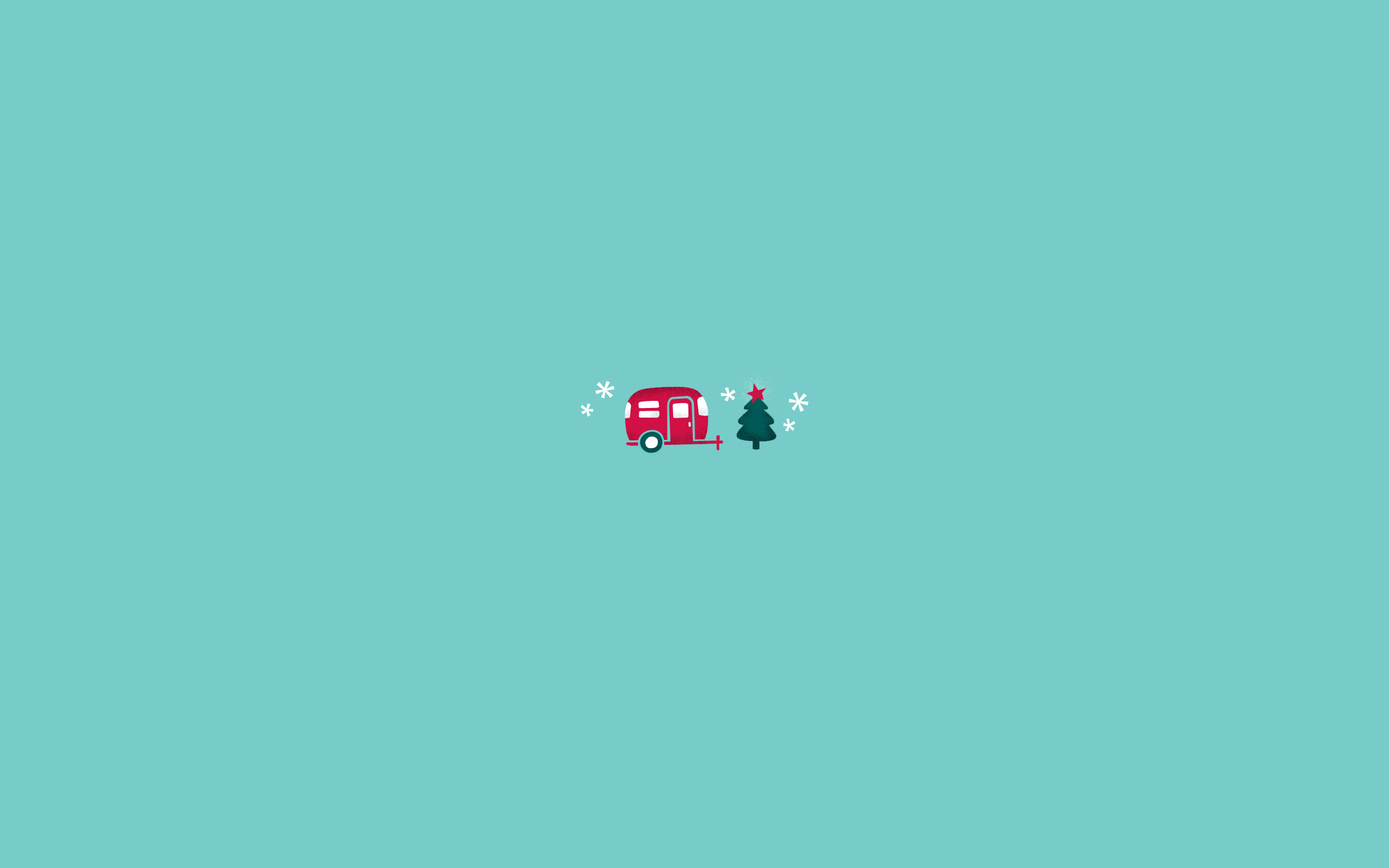 Res: 2560x1600, Download this little holiday camper desktop right here.