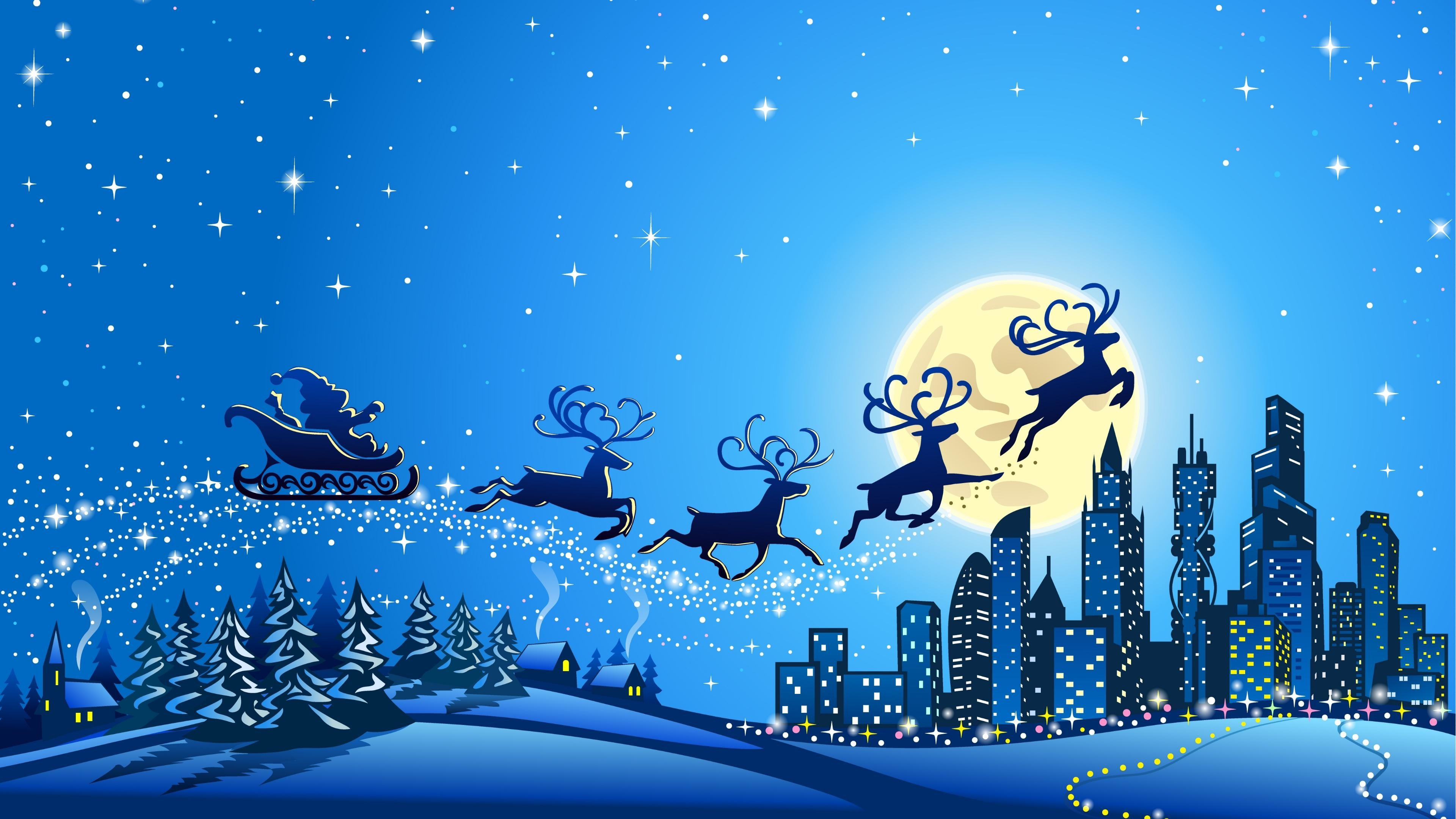 Res: 3840x2160, Merry Christmas Wallpapers Desktop Background