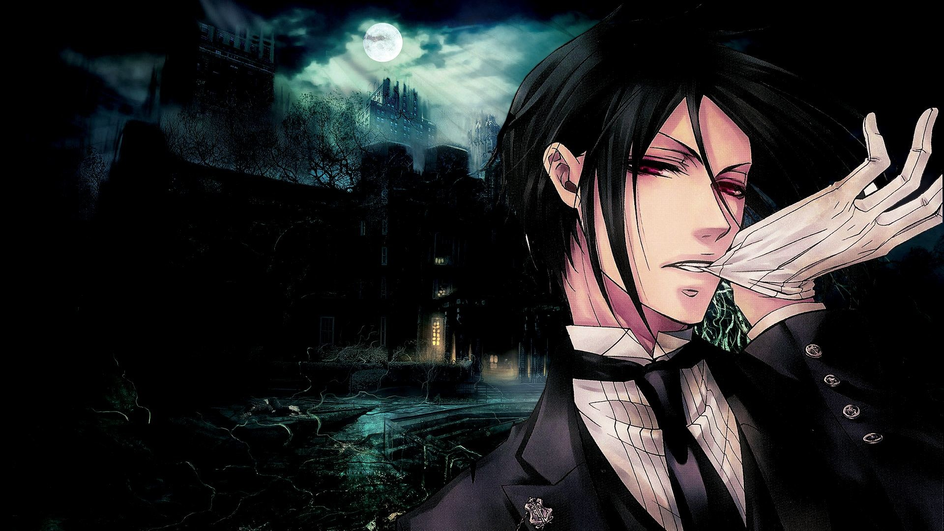 Res: 1920x1080, Black butler sebastian michaelis wallpapers HD.