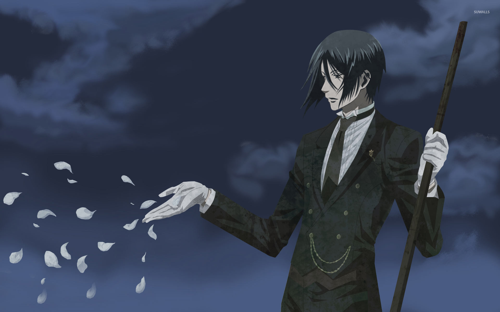Res: 1920x1200, Sebastian Michaelis - Black Butler wallpaper