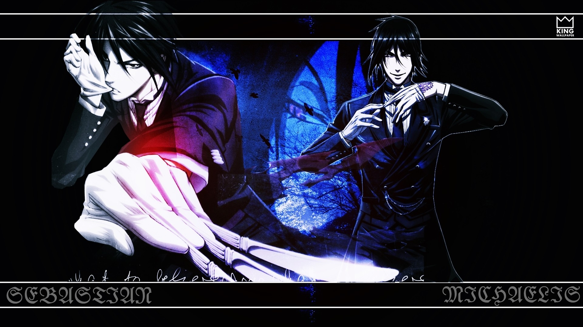 Res: 1920x1080, ... Sebastian Michaelis Wallpaper - @Black Butler by Kingwallpaper