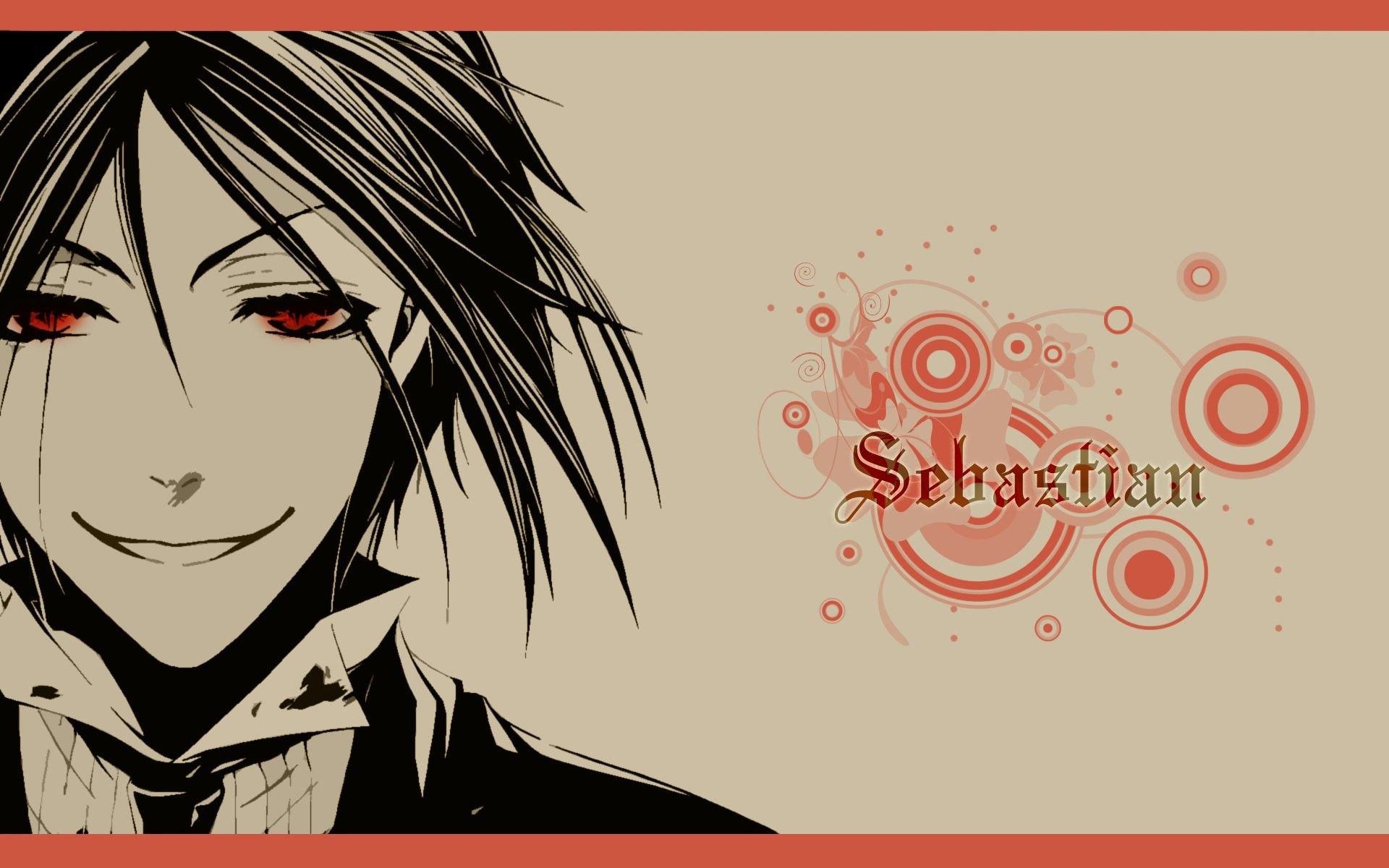 Res: 1920x1200, Suit Kuroshitsuji Sebastian Michaelis red eyes anime anime boys butler  black hair wallpaper |  | 304964 | WallpaperUP