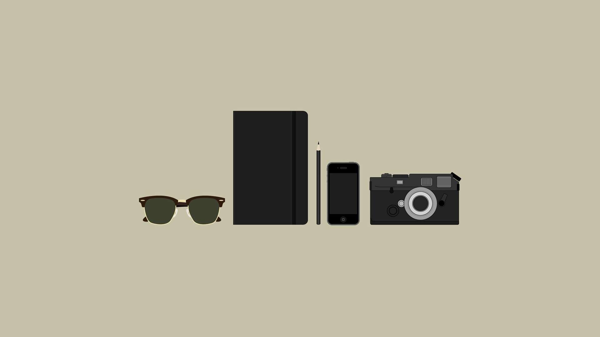 Res: 1920x1080, Hipster Gear HD Wallpaper. « »