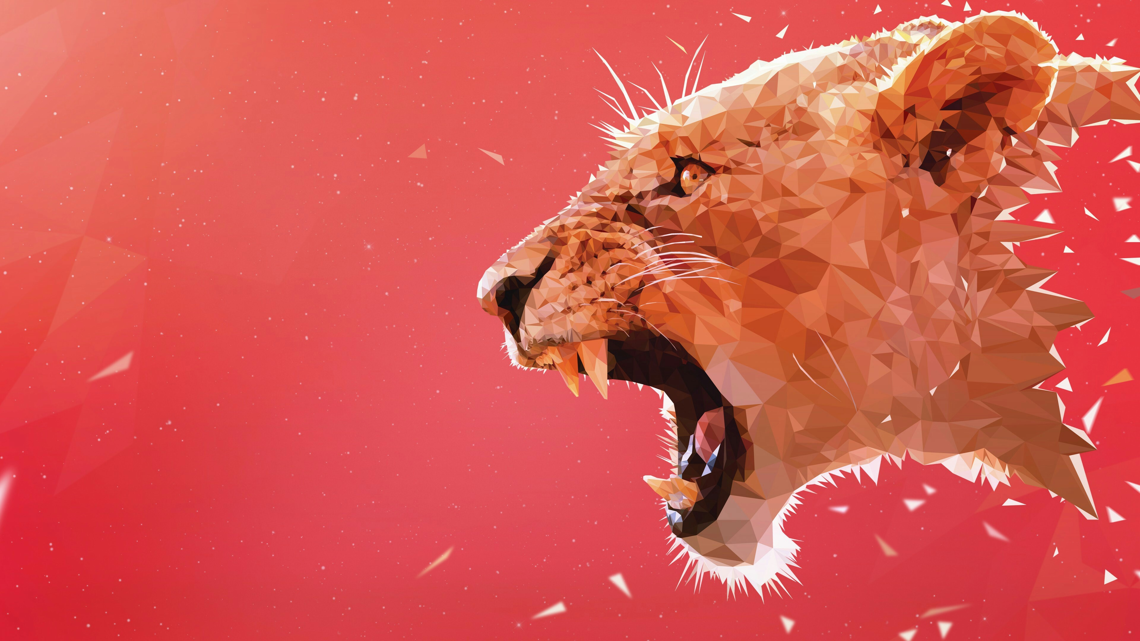 Res: 3840x2160, Roaring Lion Wallpaper | Wallpaper Studio 10 | Tens of thousands HD and UltraHD wallpapers for Android, Windows and Xbox