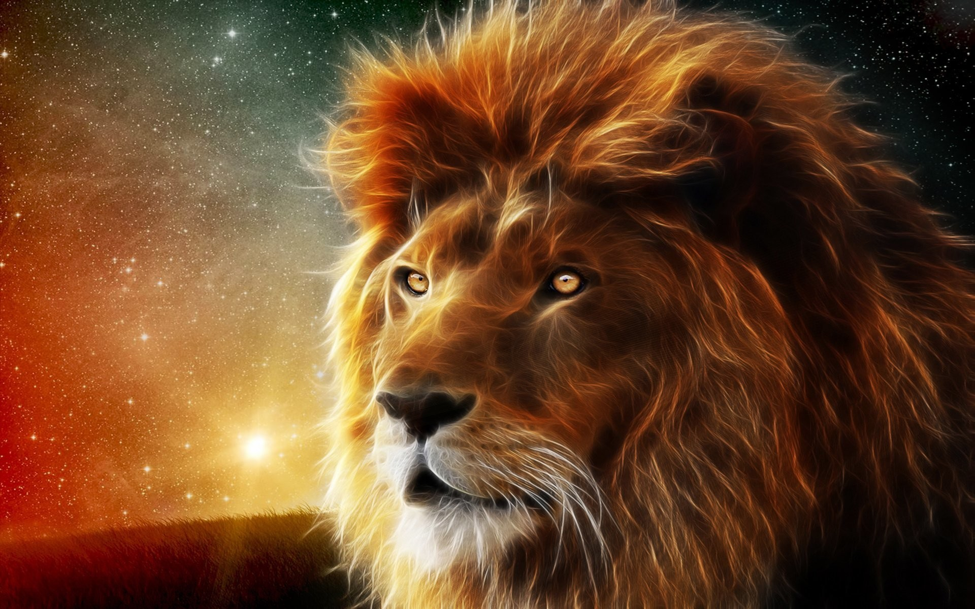 Res: 1920x1200, Animal Wallpapers. Download the following Roaring Lion ...