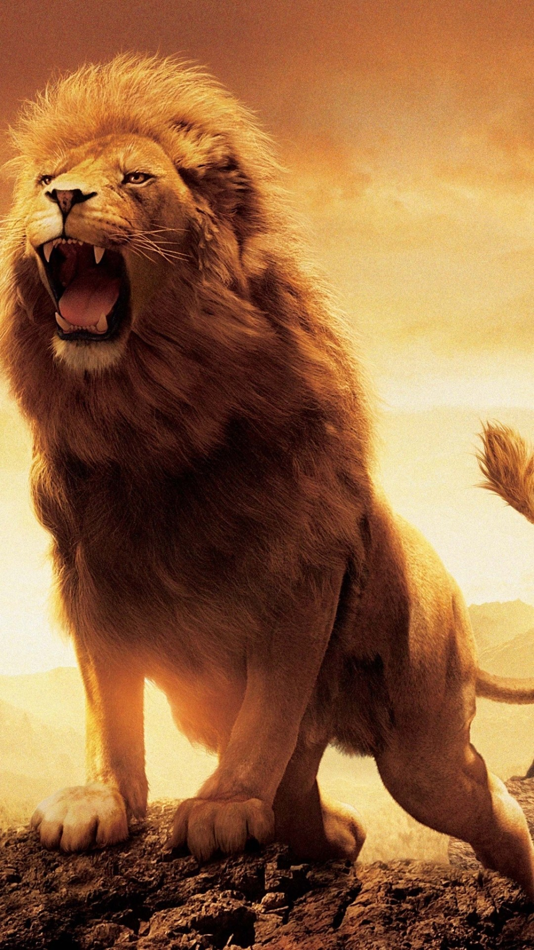 Res: 1080x1920, Animal Wallpapers. Download the following Roaring Lion ...