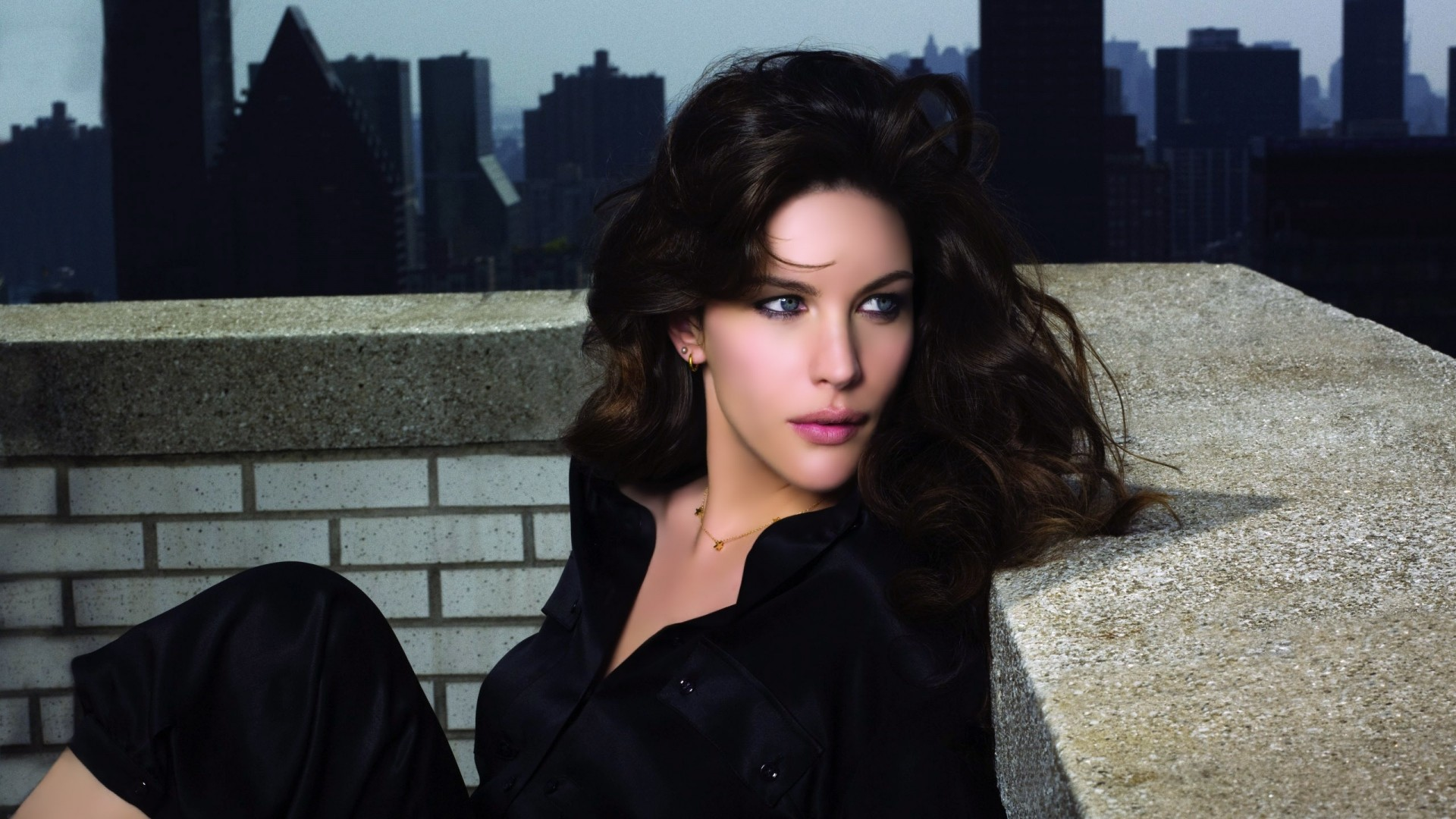 Res: 1920x1080, Get the latest liv tyler, brunette, dark news, pictures and videos and  learn all about liv tyler, brunette, dark from wallpapers4u.org, your  wallpaper news ...