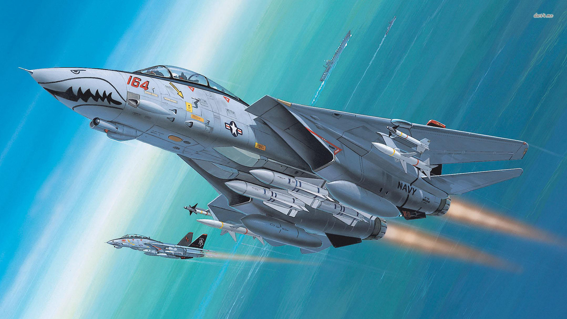 Res: 1920x1080, ... Grumman F-14 Tomcat wallpaper  ...