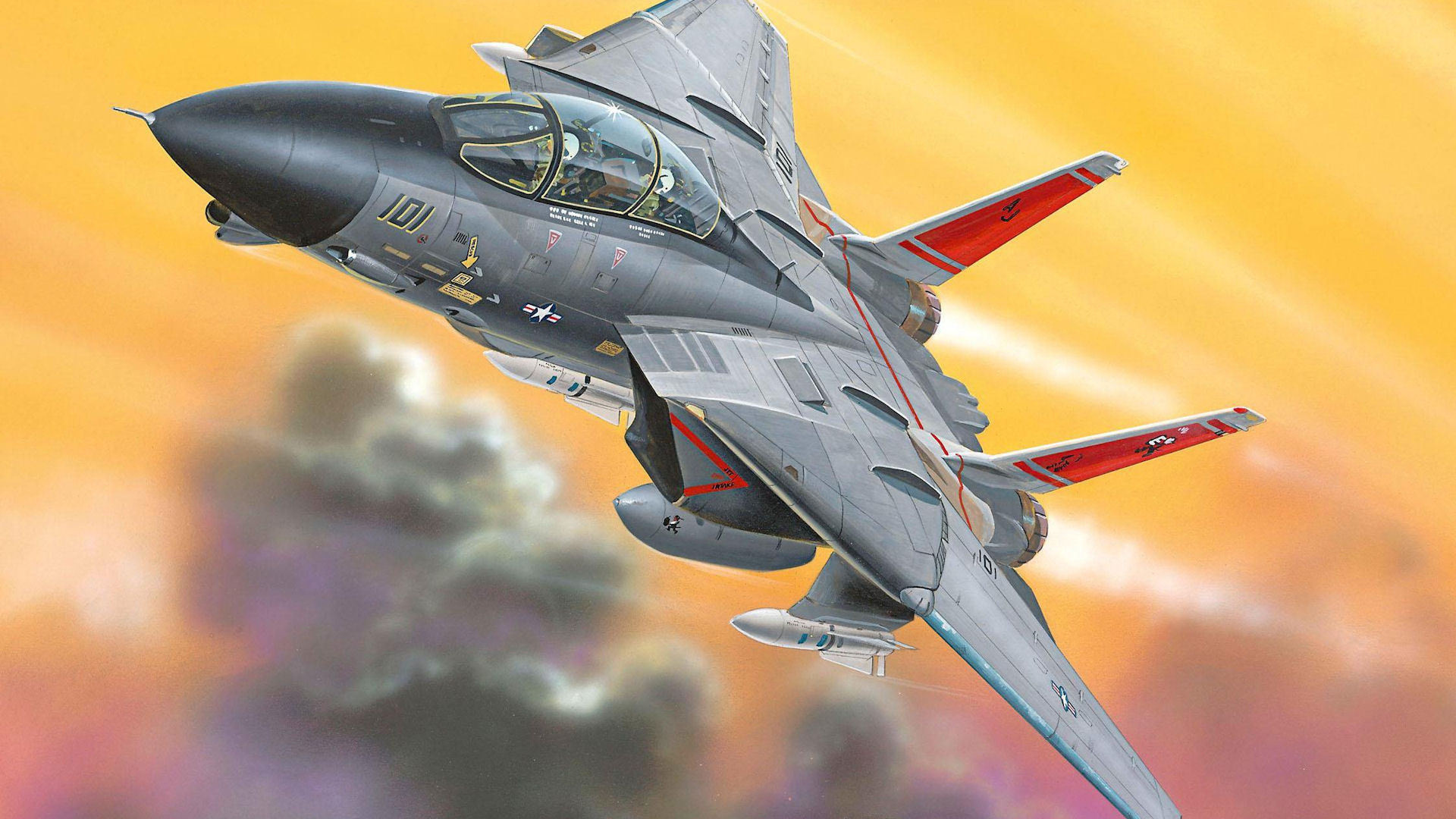 Res: 1920x1080, Grumman F-14 Tomcat Wallpapers 7 - 1920 X 1080