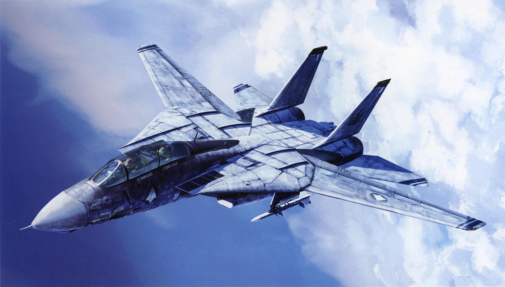 Res: 2000x1136, aircraft, Macross, artwork, vehicles, skyscapes, Grumman F14 Tomcat - Free  Wallpaper / WallpaperJam.com