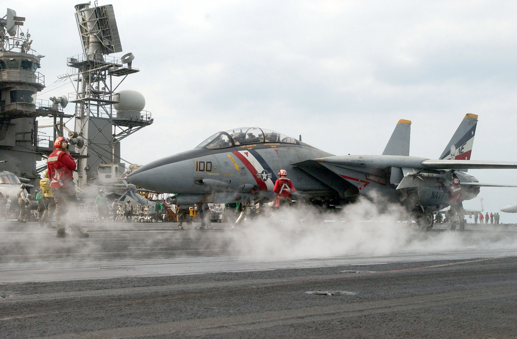 Res: 2000x1312, Ten years ago today: the U.S. Navy F-14 Tomcat's attack on Saddam's yacht