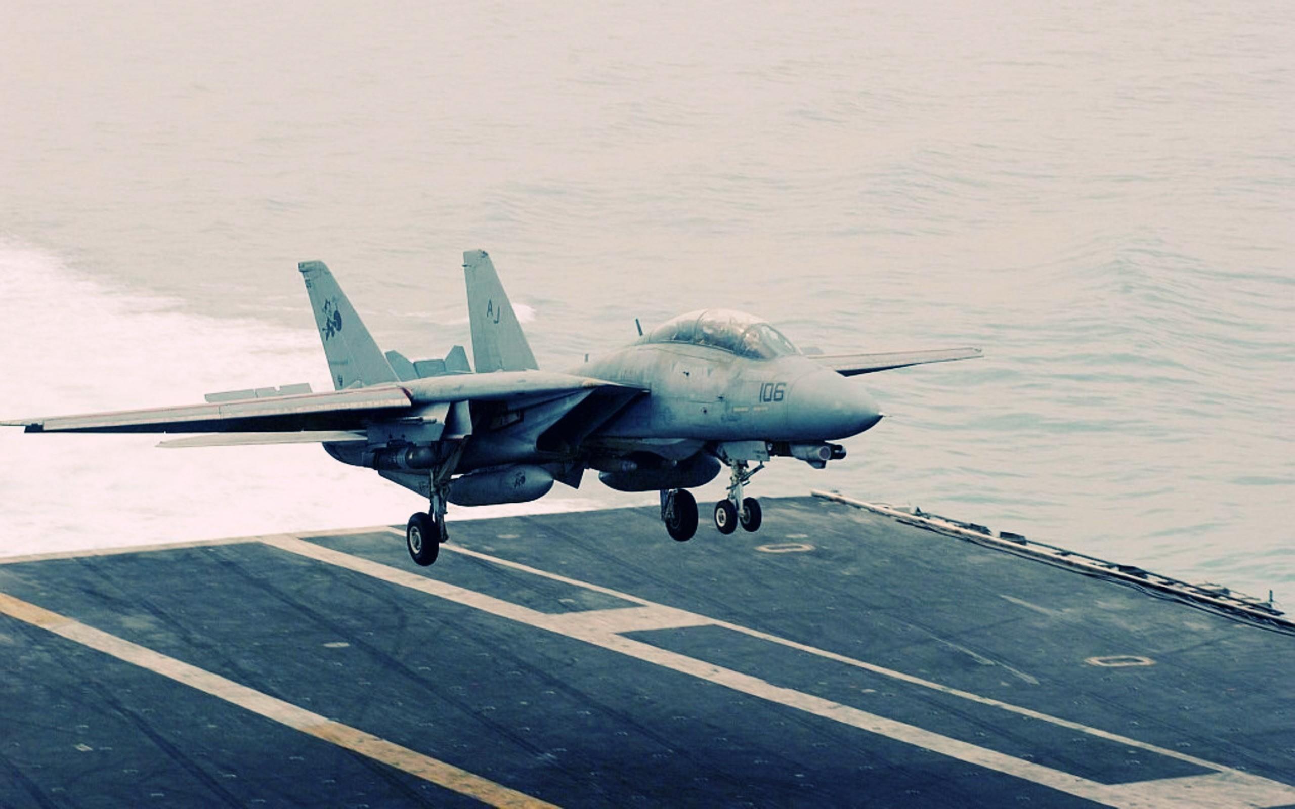 Res: 2560x1600, F14 Tomcat Supersonic.