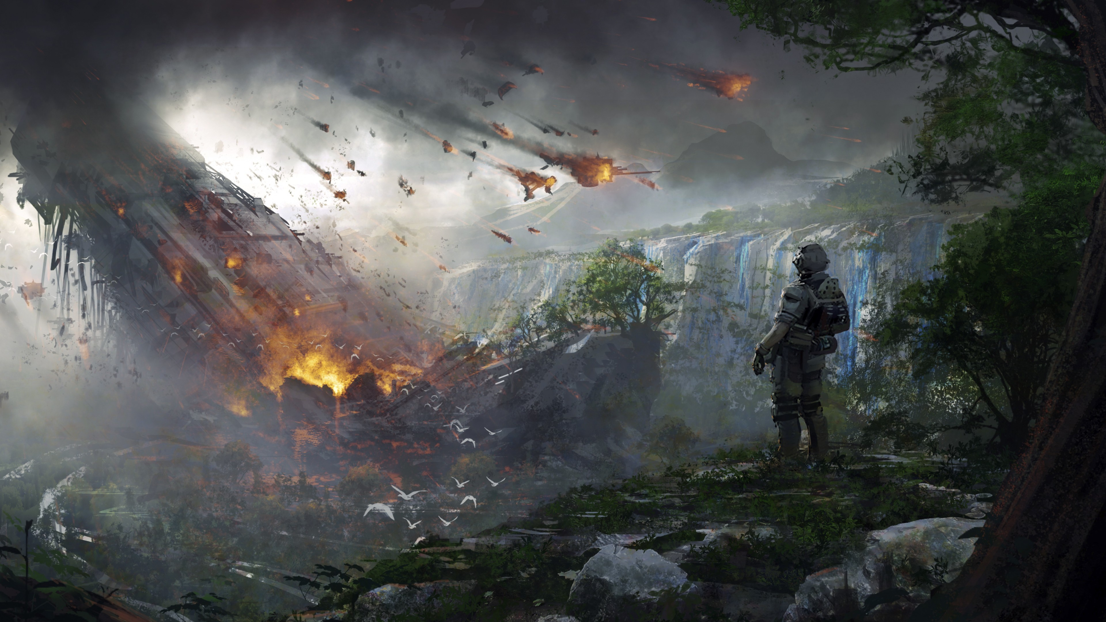 Res: 3840x2160, Games / Titanfall 2 Wallpaper