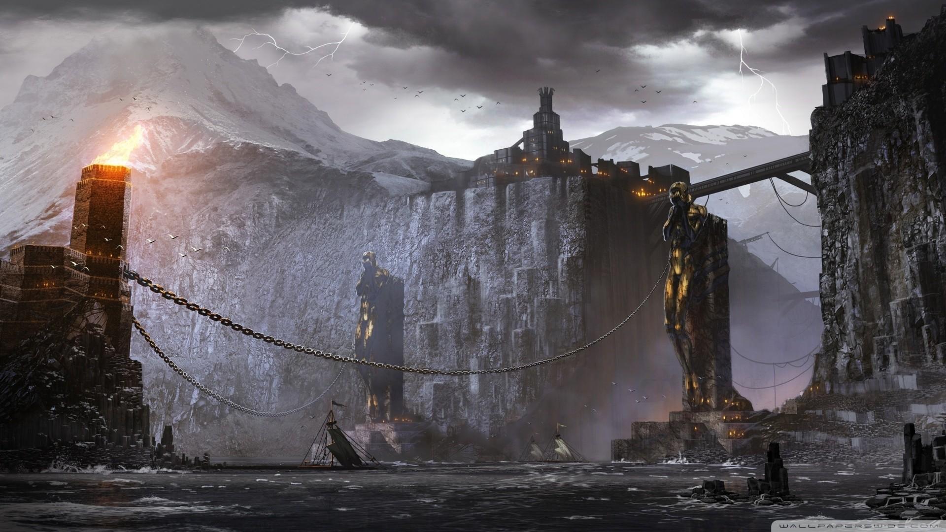Res: 1920x1080,  Dragon Age 2 Concept Art wallpaper