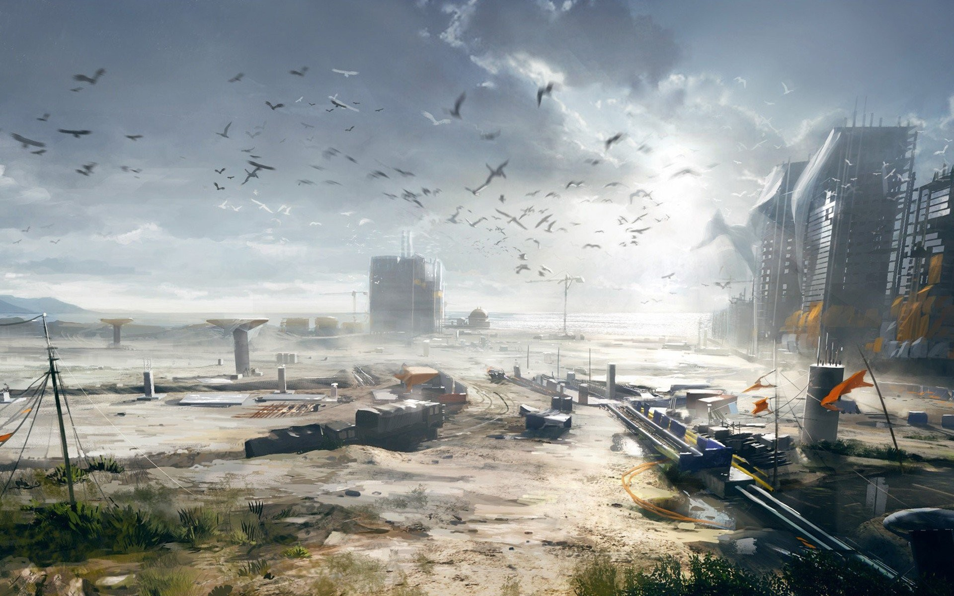 Res: 1920x1200, Battlefield 4 Concept Art (Laptop HD)