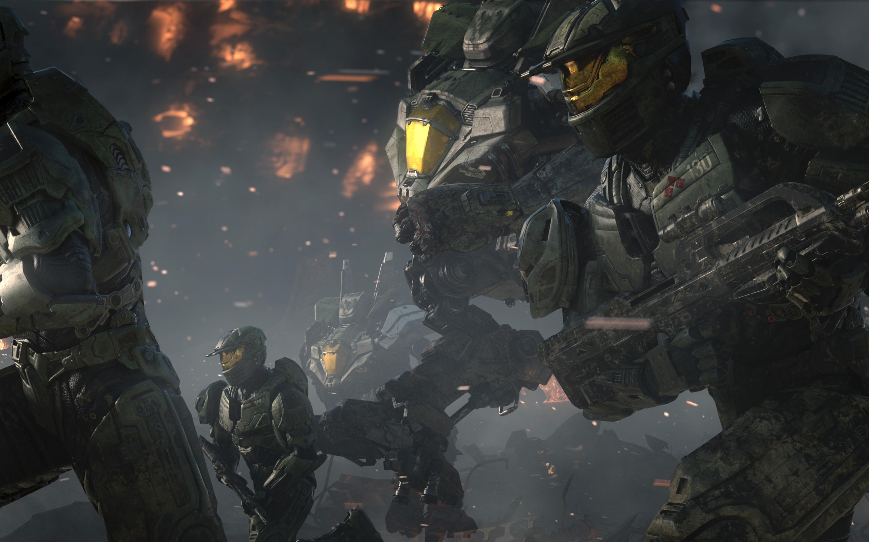 Res: 2880x1800, Games / Halo Wars 2 Wallpaper