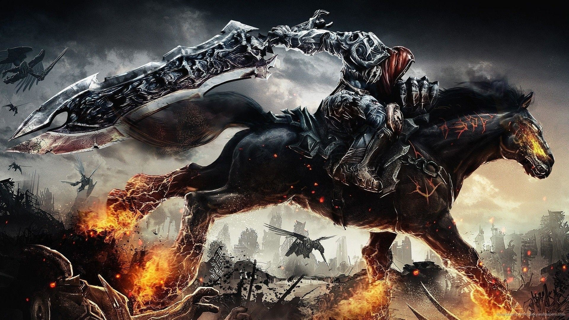Res: 1920x1080, The Darksiders Concept Art Wallpaper For Blackberry Curve