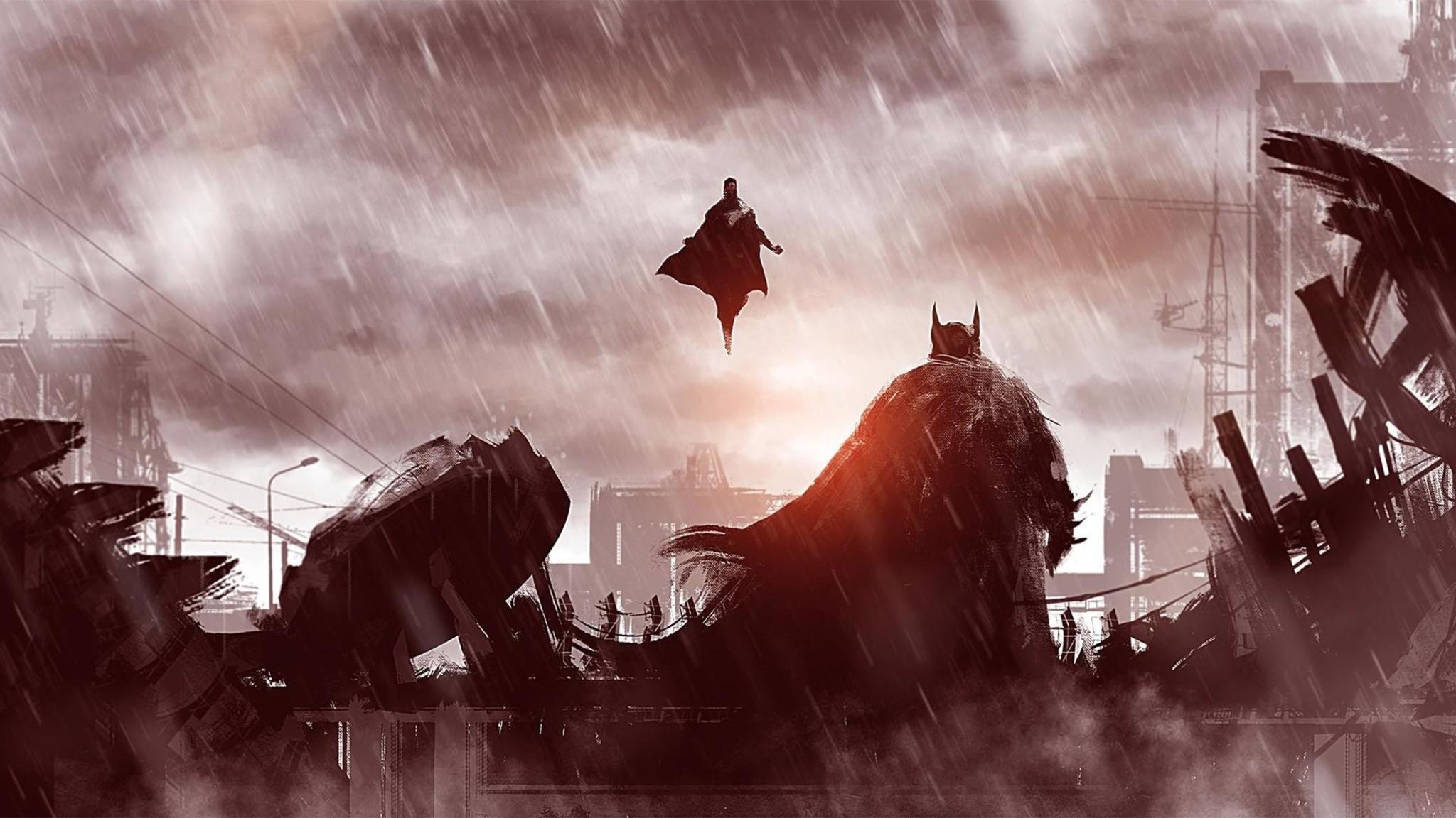 Res: 2048x1152, Batman Concept Art