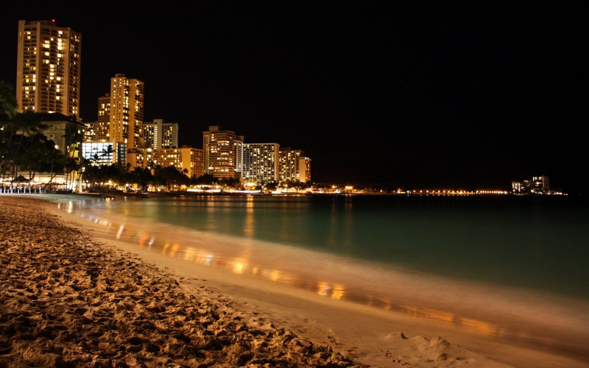 Res: 1920x1200, Waikiki Beach Wallpaper | HD Nature Wallpaper Free Download ...